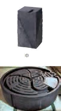 グローベン A60CGA220 ストーンファウンテンセット中 一本石タイプ H500×W260×D260 ※送料見積もり品