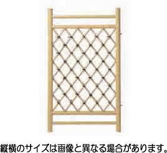 グローベン A60FF020A 黄竹枝折戸 W750 H1050