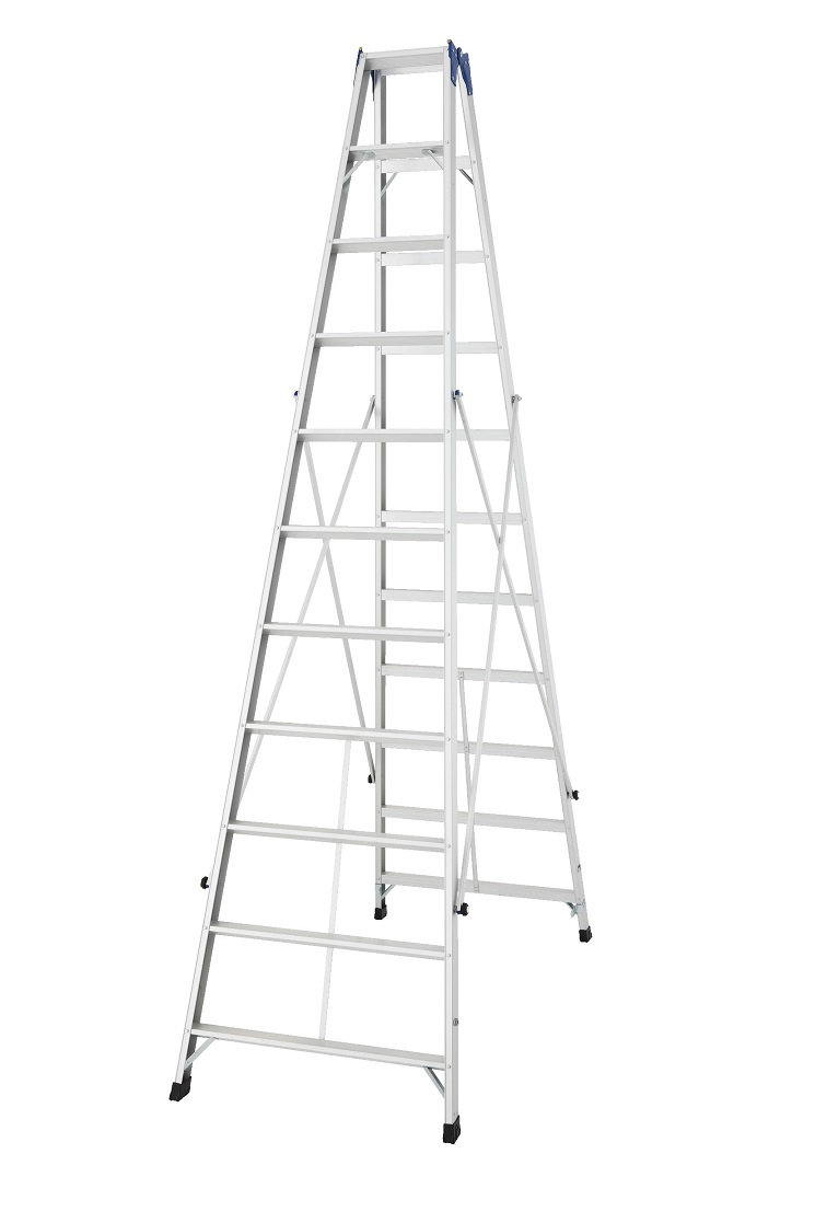 「個人宅不可」長谷川工業 XAM2.0-33 長尺専用脚立 (ハセガワ)