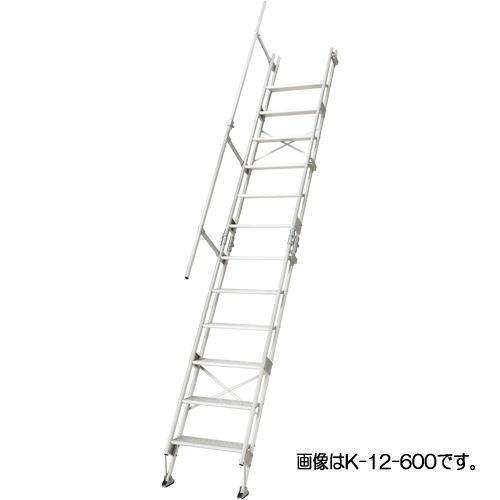 【驚きの値段で】 「個人宅」長谷川工業 建作くん (ハセガワ):家づくりと工具のお店 家ファン! K-13-600 仮設階段-DIY・工具