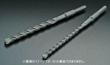 ハウスビーエム HouseBM XHSL-25.0B 六角シャンククロスビット(ハンマードリル用) XHSLタイプ(スーパーロングサイズ) 刃先径:25.0mm 1入