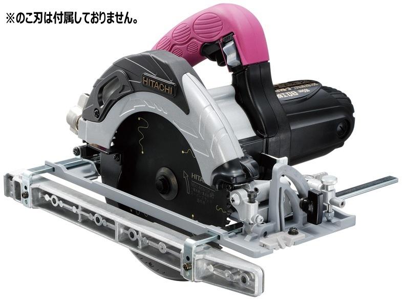 【日立工機 HITACHI】 深切り電子造作丸のこ C6UVY (N) のこ刃径165mm LEDライト付・のこ刃別売