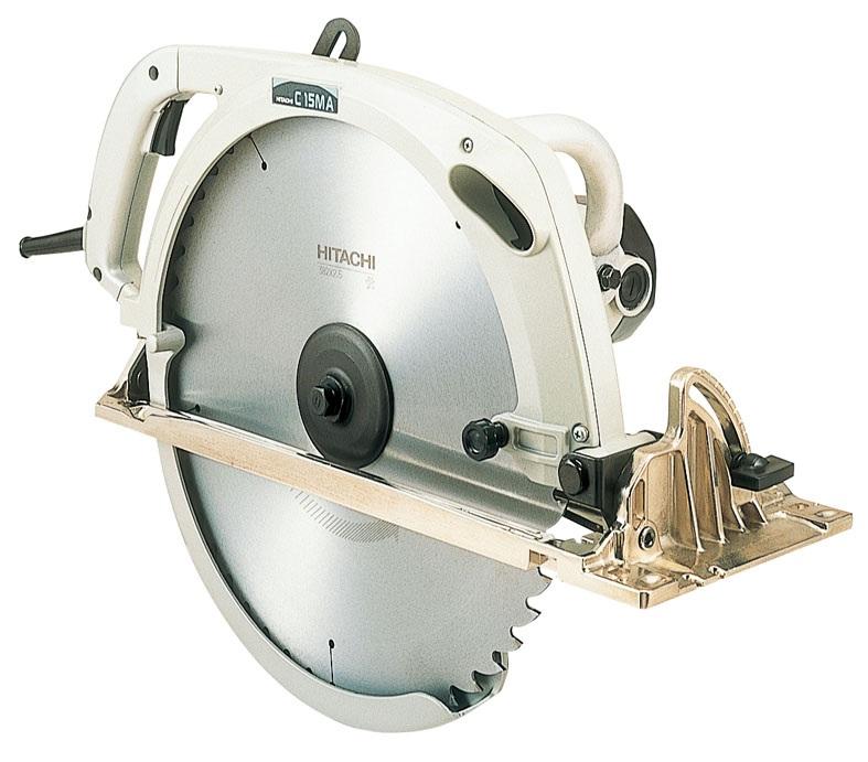 【日立工機 HITACHI】 丸のこ C15MA のこ刃径382mm チップソー付