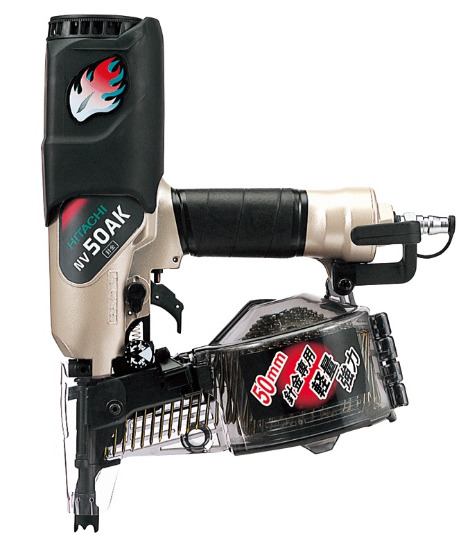 HiKOKI(旧日立工機) ロール釘打機 NV50AK ケース付