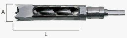 HiKOKI(旧日立工機) 959108 15mm(5分) BS30、BS30SA用角のみ組