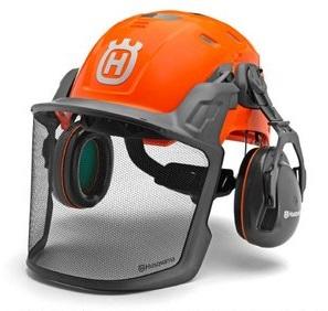 ハスクバーナ・ゼノア H300 ヘルメット テクニカル 585058401 EN397適合