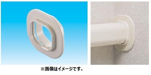 因幡電工 スリムダクトSD SWC-140 No.0484 ブラウン 配管化粧カバー(一般用) 壁貫通部用化粧プレート スリムキャップ 20個