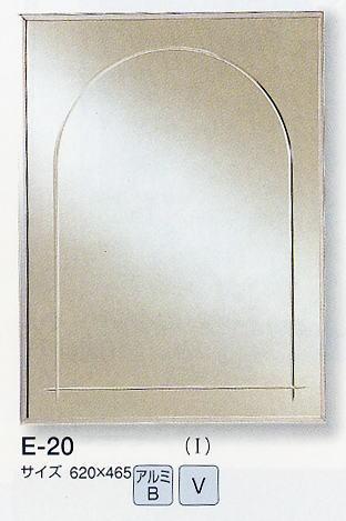 壁面鏡 E-20 620×465mm (壁掛け鏡、ウォールミラー、インテリアミラー) italian イタリアンシリーズ