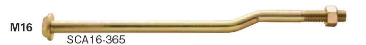 カネシン ショートクランクアンカーボルト M16×365 SCA16-365 015360(20入1ケース)