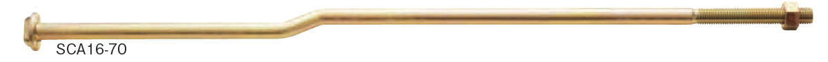 カネシン ショートクランクアンカーボルト M16×700 SCA16-70 015391(20入1ケース)