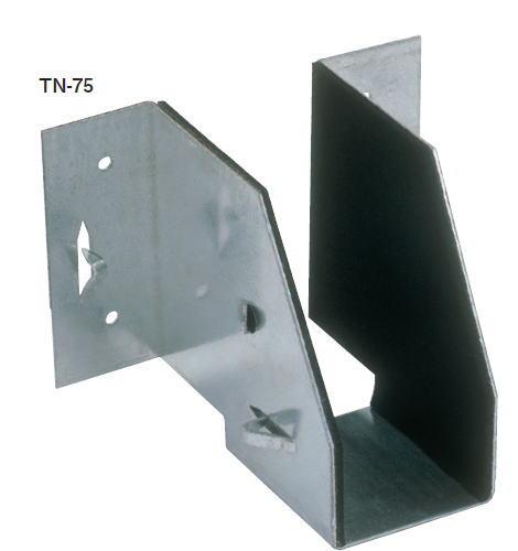 カネシン TN-75 (防震根太受け金物) 200080(50入1ケース)