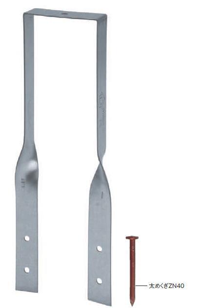 カネシン たる木クランプ2(釘付) 40×180 107110(200入1ケース)