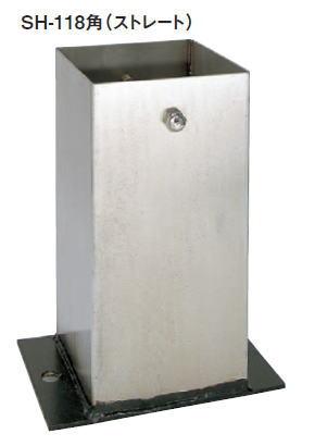 カネシン ステンレス装飾柱受け 118角 SH-118 130500(10入1ケース)