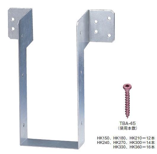 タナカ 大引き補強金物 HK180 AA1188(20入1ケース)