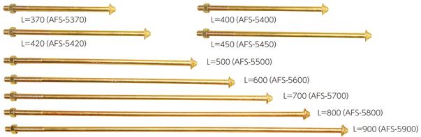 カナイ フィストアンカーボルト M16×900 AFS-5900 000-8709(15入1ケース)