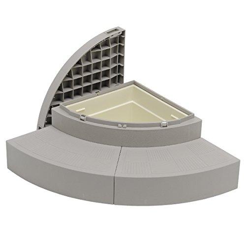 城東テクノ JOTO ハウスステップボックスタイプ 収納庫付 CUB-A8060S-H1 ※メーカー直送
