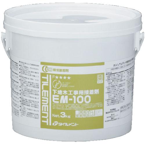 タイルメント コンクリボンド(木レンガ) EM-100 3kg 6缶