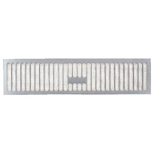 (50枚入) カネシン ステンレス床下換気口 YS-4912 (網付) W490×H120×t6mm