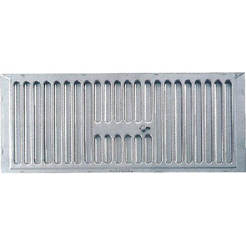(18枚入) カネシン ステンレス床下換気口 YSS-4418 (開閉式・網付) W440×H180×t9mm