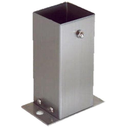 (6個入) ステンレス装飾柱脚金物 ストレート 100角 柱受金物