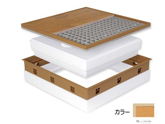 城東テクノ JOTO 高気密床下点検口 SPF-R60F12-BL2-NL 高断熱型 ※メーカー直送