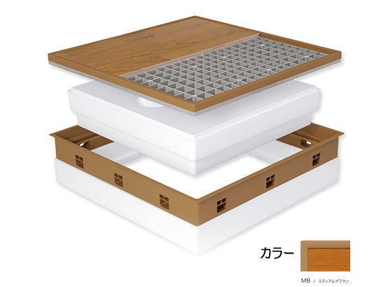城東テクノ JOTO 高気密床下点検口SPF-R60F15-BL2 -MB 高断熱型 ※メーカー直送