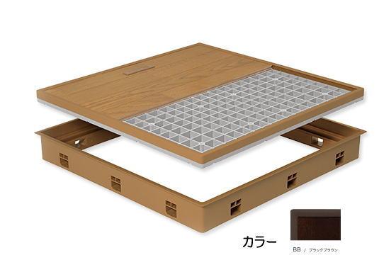 城東テクノ JOTO 高気密床下点検口 SPF-R6060F15-BB 標準型 ※メーカー直送