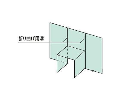 フクビ ウェザータイトバルコニー用(1体タイプ)角105用 WTBK105(20入1ケース)