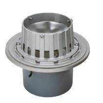 カネソウ ESSJ-1-125 ステンレス鋳鋼製ルーフドレン ESSJ-1 呼称 125mm ( 5インチ )