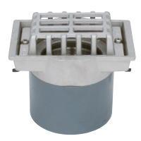 カネソウ ESMD-2-50 ステンレス鋳鋼製ルーフドレン ESMD-2 呼称 50mm ( 2インチ )