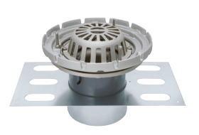 カネソウ EDSSRW-1-65 ステンレス鋳鋼製ルーフドレン EDSSRW-1 呼称 65mm ( 2 1/2インチ )