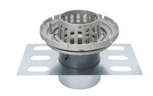 カネソウ EDSSBW-1-50 ステンレス鋳鋼製ルーフドレン EDSSBW-1 呼称 50mm ( 2インチ )