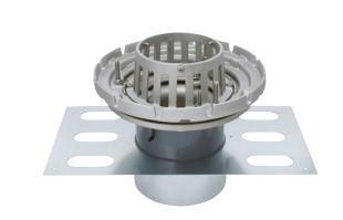 カネソウ EDSSBW-2-50 ステンレス鋳鋼製ルーフドレン EDSSBW-2 呼称 50mm ( 2インチ )