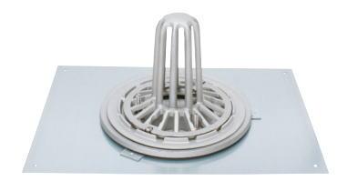 カネソウ ESSP-6-100 ステンレス鋳鋼製ルーフドレン ESSP-6 呼称 100mm ( 4インチ )