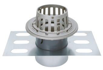 カネソウ EDSSB-1-100 ステンレス鋳鋼製ルーフドレン EDSSB-1 呼称 100mm ( 4インチ )