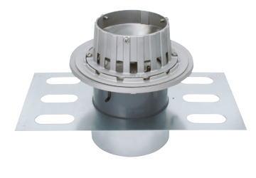 カネソウ EDSSJ-1-125 ステンレス鋳鋼製ルーフドレン EDSSJ-1 呼称 125mm ( 5インチ )