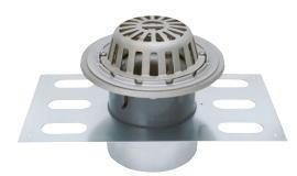 カネソウ EDSSR-2-150 ステンレス鋳鋼製ルーフドレン EDSSR-2 呼称 150mm ( 6インチ )
