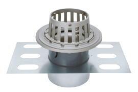 カネソウ EDSSB-2-100 ステンレス鋳鋼製ルーフドレン EDSSB-2 呼称 100mm ( 4インチ )
