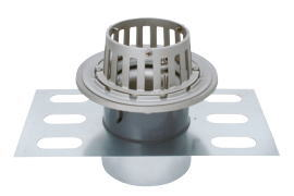 カネソウ EDSSB-2-125 ステンレス鋳鋼製ルーフドレン EDSSB-2 呼称 125mm ( 5インチ )