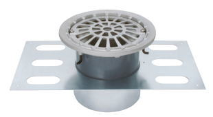 カネソウ EDSMF-1-100 ステンレス鋳鋼製ルーフドレン EDSMF-1 呼称 100mm ( 4インチ )
