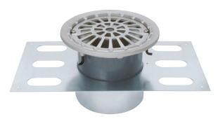 カネソウ EDSMF-1-125 ステンレス鋳鋼製ルーフドレン EDSMF-1 呼称 125mm ( 5インチ )