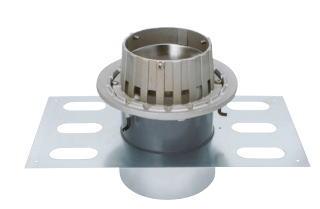 カネソウ EDSMJ-1-125 ステンレス鋳鋼製ルーフドレン EDSMJ-1 呼称 125mm ( 5インチ )