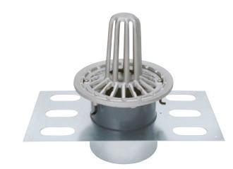 カネソウ EDSMP-2-75 ステンレス鋳鋼製ルーフドレン EDSMP-2 呼称 75mm ( 3インチ )