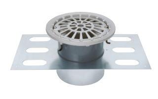 カネソウ EDSMF-2-100 ステンレス鋳鋼製ルーフドレン EDSMF-2 呼称 100mm ( 4インチ )