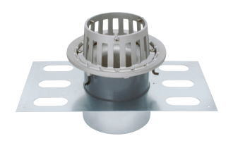 カネソウ EDSMB-2-100 ステンレス鋳鋼製ルーフドレン EDSMB-2 呼称 100mm ( 4インチ )