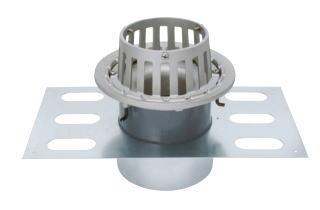 カネソウ EDSMB-2-125 ステンレス鋳鋼製ルーフドレン EDSMB-2 呼称 125mm ( 5インチ )