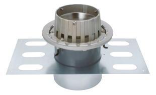 カネソウ EDSMJ-2-75 ステンレス鋳鋼製ルーフドレン EDSMJ-2 呼称 75mm ( 3インチ )