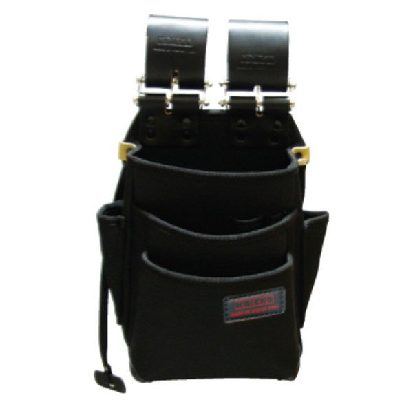 ニックス KB-212NS-DX チェーン式特殊ナイロン製腰袋 ブラック
