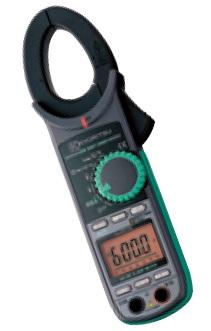 共立電気計器 交流電流・直流電流測定用クランプメータ キュースナップ KEW 2046R 携帯用ケース付