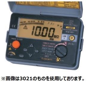 共立電気計器 絶縁抵抗計 キューメグ KEW 3022